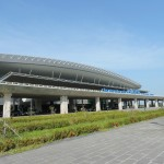 Der internationale Flughafen in Phu Quoc